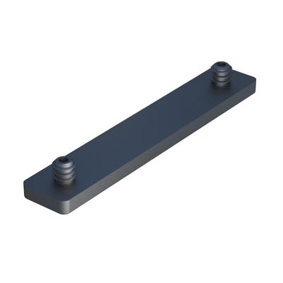 Stopper for square or rectangular tubes with pegs