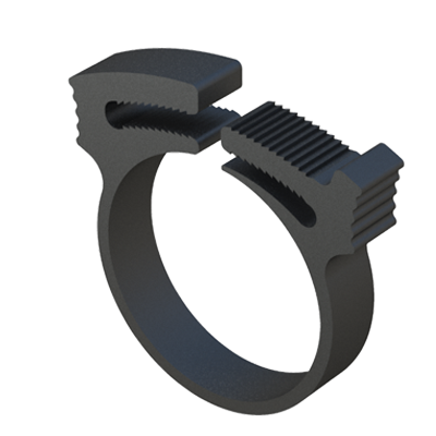 Double grip hose clamp