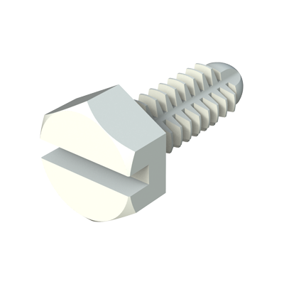 Spin clip - Slotted hex screw
