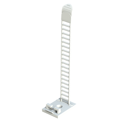 Ladder style cable clamp